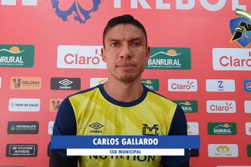 Declaraciones de Carlos Gallardo