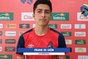 Declaraciones de Frank de León / CSD Municipal