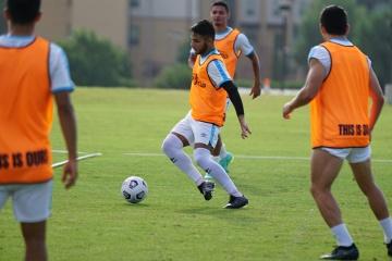 Entrenamiento Selección Nacional de Guatemala