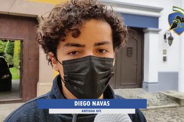 Diego Navas - Antigua GFC
