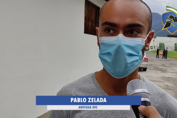 Pablo Zelada - Antigua GFC