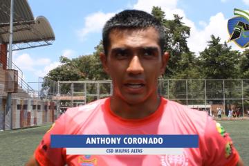 """Coronado: """"El gol llegó en el momento justo""""."""
